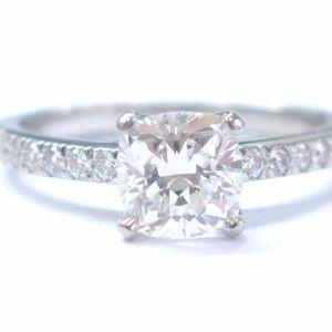 Tiffany & Co. Jewelry - Tiffany & Co Platinum Novo Diamond Engagement Ring
